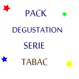 pack degustation eliquide tabac