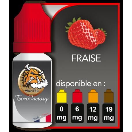 E-liquide francais goût saveur Fraise pour votre E-cig